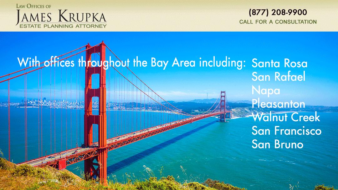 With offices throughout the Bay Area including: Santa Rosa, San Rafael, Napa, Pleasanton, Walnut Creek, San Francisco & San Bruno